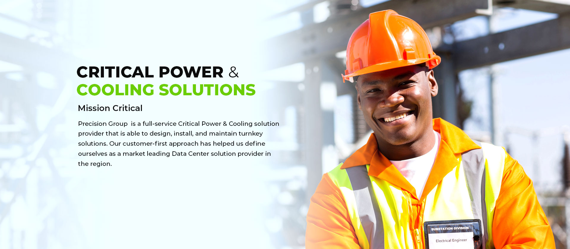 Critical Power and Cooling Solutions